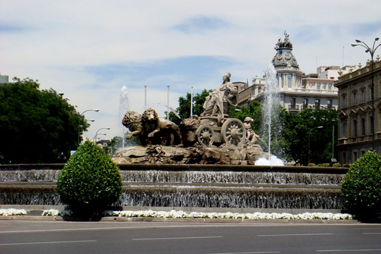Cibeles fountain Madrid The Sophistication of Madrid